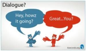 """你是在""""对话""""还是""""客套""""呢?"""