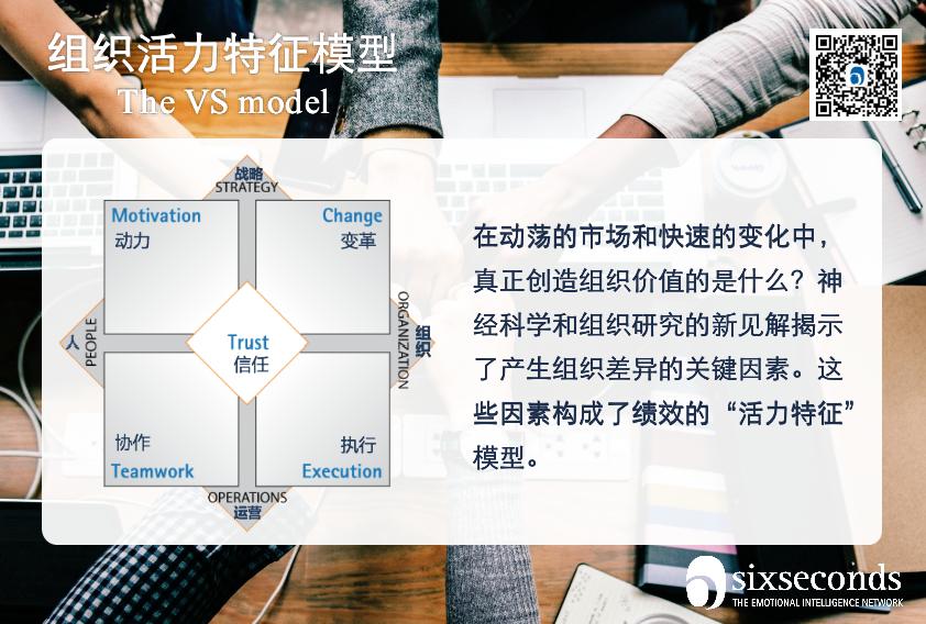 活力特征模型 | 精准把脉和解决企业绩效问题